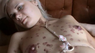 Submissive Inga. Complete male DOMINATION over her.