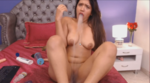 Sexy Latina Girl Taste And Play With Scat 6
