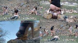 Toilet Slave Outback Walk Part 3 Sd