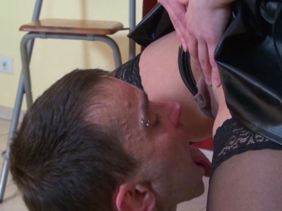 Greedy Slave Mouth Filled With Pee