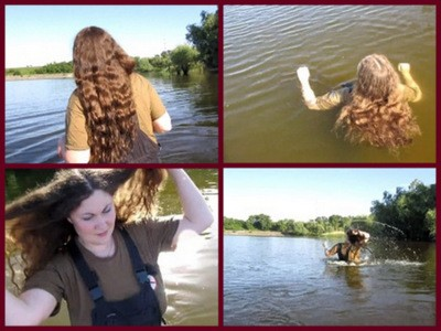 Hair Games In The River1